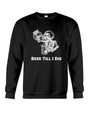 Beer Skull Crewneck Sweatshirt thumbnail