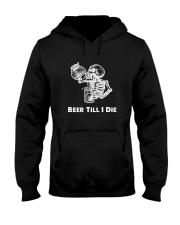Beer Skull Hooded Sweatshirt thumbnail
