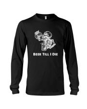 Beer Skull Long Sleeve Tee thumbnail