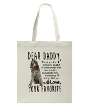 Wirehaired Pointing Griffon Daddy Tote Bag tile