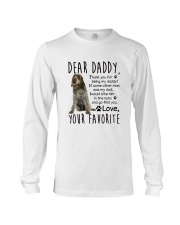 Wirehaired Pointing Griffon Daddy Long Sleeve Tee thumbnail