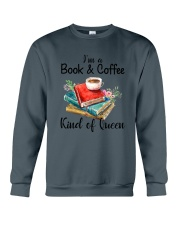 Book - Book and Coffee Crewneck Sweatshirt thumbnail