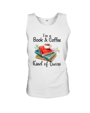 Book - Book and Coffee Unisex Tank thumbnail