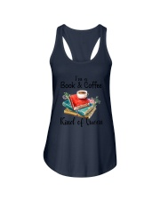 Book - Book and Coffee Ladies Flowy Tank thumbnail