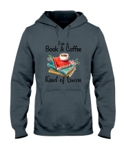 Book - Book and Coffee Hooded Sweatshirt thumbnail