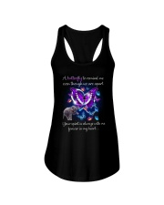 Elephant and Butterfly Ladies Flowy Tank thumbnail