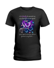 Elephant and Butterfly Ladies T-Shirt thumbnail