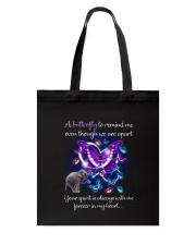 Elephant and Butterfly Tote Bag thumbnail