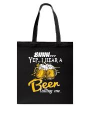 Beer Calling Me Tote Bag thumbnail