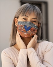 Basketball Peace Love T827 Cloth face mask aos-face-mask-lifestyle-17