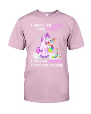 Unicorn go normal Classic T-Shirt tile