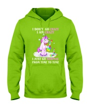 Unicorn go normal Hooded Sweatshirt thumbnail