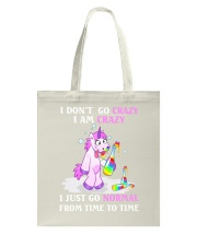 Unicorn go normal Tote Bag thumbnail