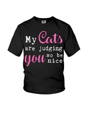 Cats And You Youth T-Shirt thumbnail
