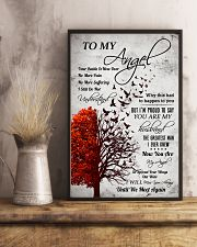 Family To My Angel 11x17 Poster lifestyle-poster-3