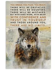 Wolf No Limits  11x17 Poster front