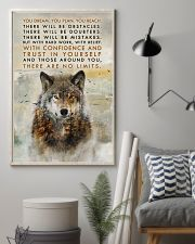 Wolf No Limits  11x17 Poster lifestyle-poster-1
