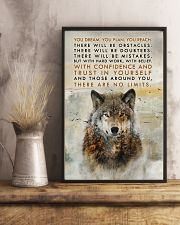 Wolf No Limits  11x17 Poster lifestyle-poster-3
