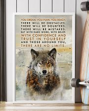 Wolf No Limits  11x17 Poster lifestyle-poster-4