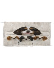 Awesome Cavalier King Charles Spaniel G82730 Cloth face mask front