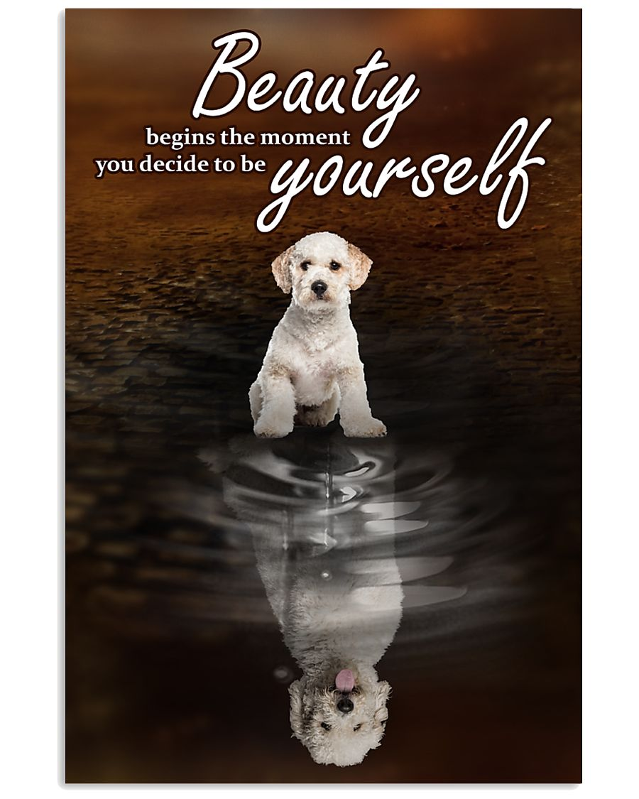Labradoodle To Be Yourself 11x17 Poster