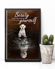Labradoodle To Be Yourself 11x17 Poster lifestyle-poster-8