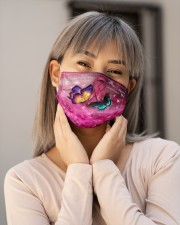 Butterfly Breast Cancer T828 Cloth face mask aos-face-mask-lifestyle-17