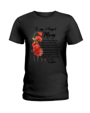 Family My Angle  Mom Ladies T-Shirt thumbnail