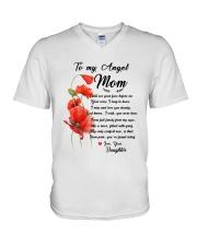 Family My Angle  Mom V-Neck T-Shirt thumbnail