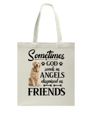 Golden Retriever - good friend Tote Bag thumbnail