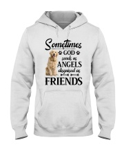 Golden Retriever - good friend Hooded Sweatshirt thumbnail