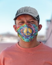 Hippie Peace Icons H28857 Cloth face mask aos-face-mask-lifestyle-06