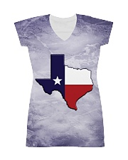 Texas State Flag All-Over Dress tile