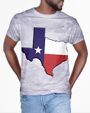 Texas State Flag All-over T-Shirt aos-all-over-T-shirt-lifestyle-front-04