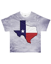 Texas State Flag All-over T-Shirt front