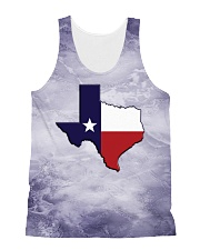 Texas State Flag All-over Unisex Tank thumbnail