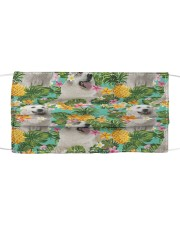 Tropical Pineapple Great Pyrenees H25824 Cloth face mask front