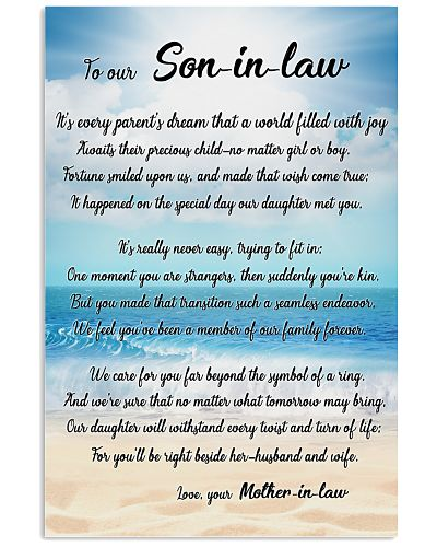 Family Son-in-law - We care for you