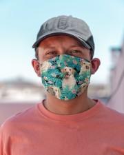 Labrador Retriever Tropical H31714 Cloth face mask aos-face-mask-lifestyle-06