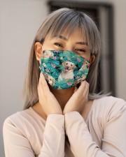 Labrador Retriever Tropical H31714 Cloth face mask aos-face-mask-lifestyle-17