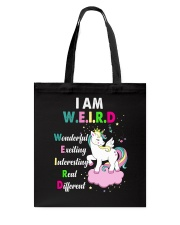 Unicorn - Weird Tote Bag thumbnail