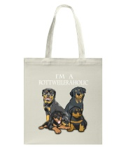 Rottweiler Camp Mau White Tote Bag thumbnail