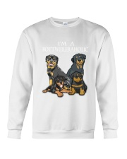 Rottweiler Camp Mau White Crewneck Sweatshirt thumbnail