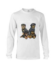 Rottweiler Camp Mau White Long Sleeve Tee thumbnail