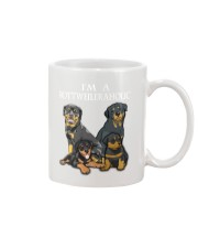 Rottweiler Camp Mau White Mug thumbnail