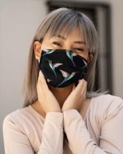 Hummingbird Pattern G82613 Cloth face mask aos-face-mask-lifestyle-17