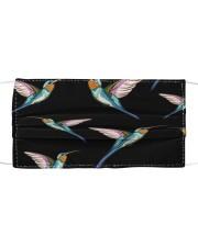 Hummingbird Pattern G82613 Cloth face mask front