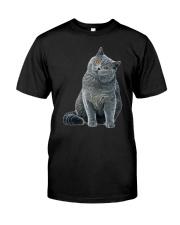 British Shorthair Patronus Classic T-Shirt front