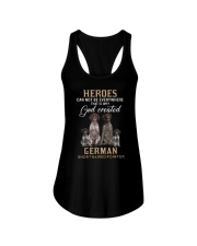 German Shorthaired Pointer Heroes Ladies Flowy Tank thumbnail