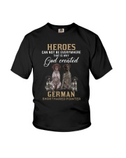 German Shorthaired Pointer Heroes Youth T-Shirt thumbnail